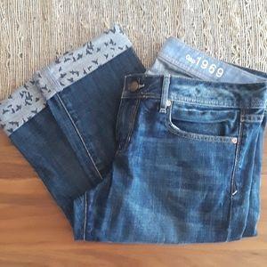 Rare Bird Print GAP Jeans